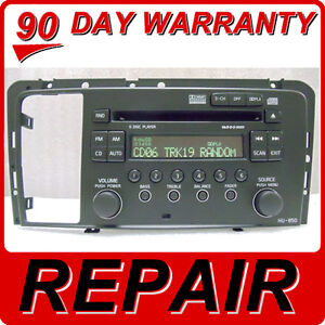 REPAIR SERVICE for VOLVO S60 V70 S80 XC70 Radio HU-850 6 Disc Changer CD Player
