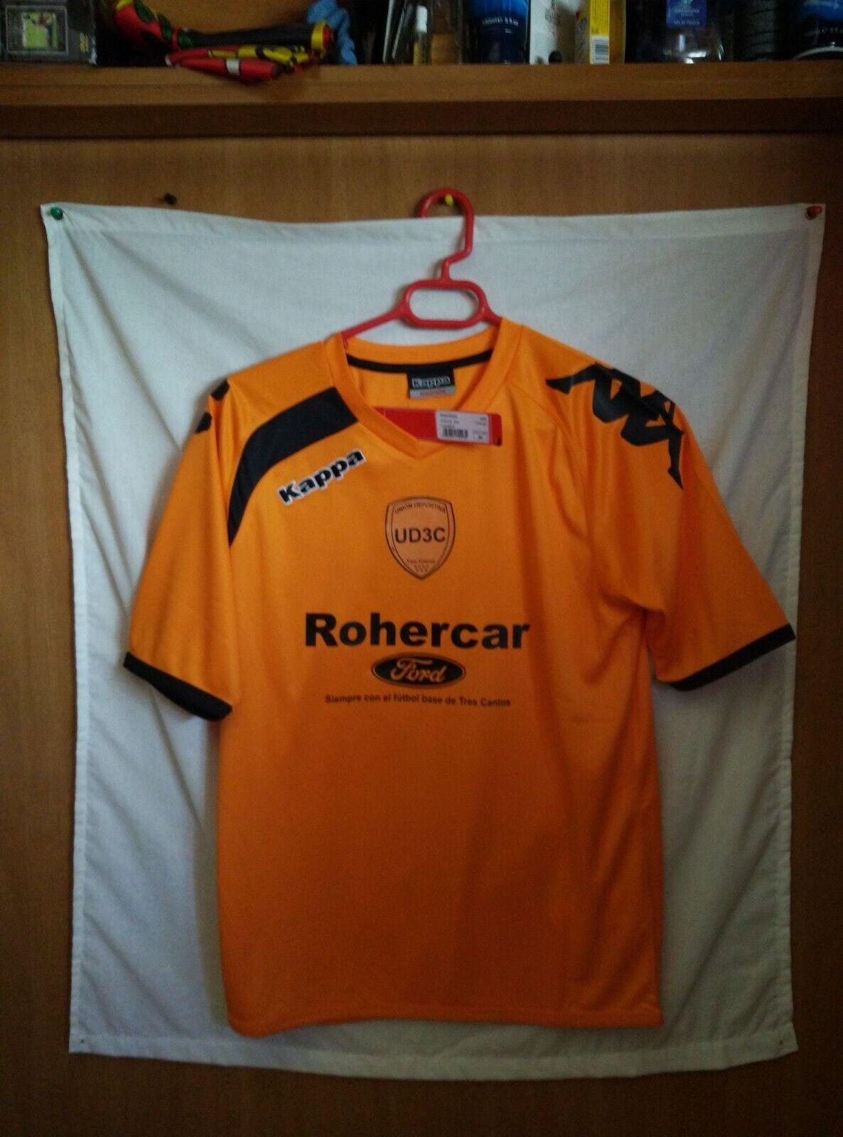 Nueva a estrenar   Original   Camiseta de futbol   Diuominiione M   UD Tres Cantos