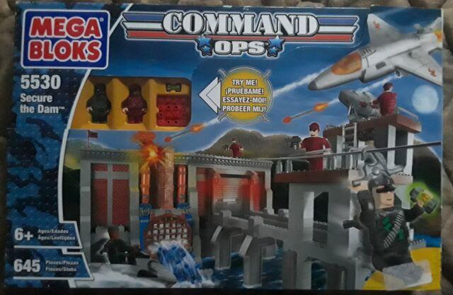 Instruction Manual for Mega Bloks Command Ops 5530 Secure