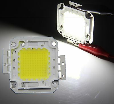 100W LED Chip Cold White High Power SMD LED Panel 9000LM Lamp For Flood Lights