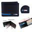 BMW-M-Sport-Leather-Wallet-Coin-Purse-Holder-Msport-Blue-Red-Mens-Accessory-New Indexbild 1