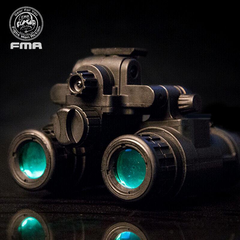 FMA Casco Binocular Táctico NVG  PVS31 Maniquí de Visión Nocturna Función de Luz  barato y de alta calidad