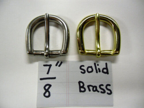 "Solid brass Buckle. 78"" for 10 pieces."