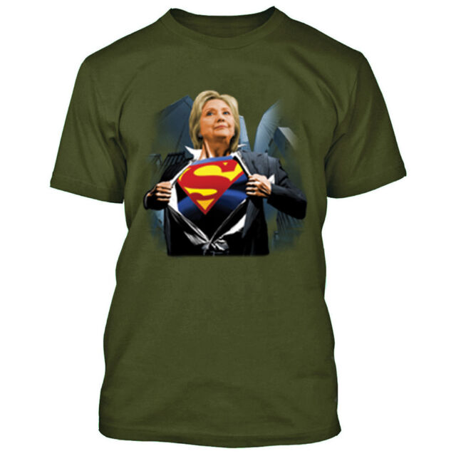 Superman Superman For President Premium Adult Slim Fit T-Shirt