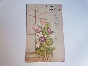 Greeting-Postcard-Vintage-Good-Morning