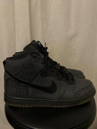 Nike Dunk High Reflective Croc - Size 11 *2007*
