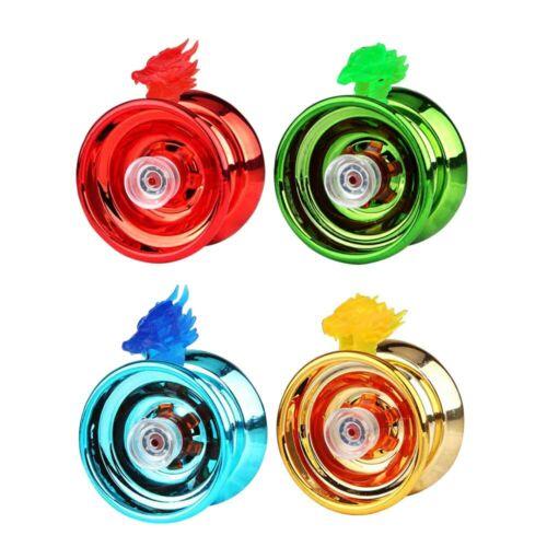 YoYo Trick YO YO Aluminum Clutch Mechanism Kids Toy Bundle Bearing Speed Ball