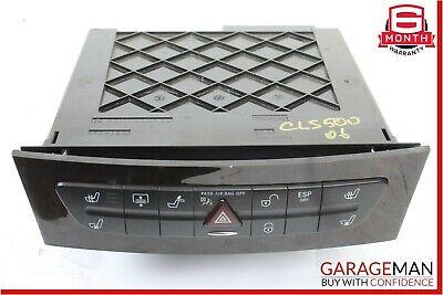 03-06 Mercedes W219 CLS500 E320 Hazard Light Door Lock Control Switch Wood OEM