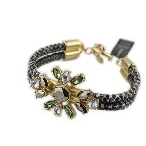 8-5-034-New-Banana-Republic-Flower-Statement-Bracelet-Fashion-Women-Party-Jewelry