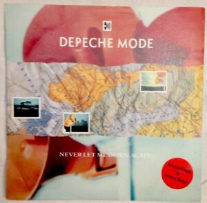 DEPECHE-MODE-7-034-1987-Erstpressung-Red-Vinyl-Never-let-me-down-again-INT-111850