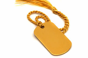 Personalised-Small-Gold-Dog-Tag-Bookmark-Gift-Box-Choice-of-Tassel-Engraved
