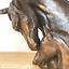 thumbnail 2 - David-Geenty-Bronze-Mare-amp-Foal-Heads-sculpture-ornament-Horse-Pony-lover-gift