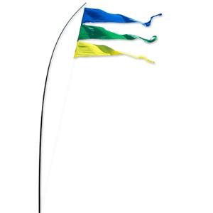 Windspiel-Fahne-Flagge-Windfahne-Wind-Bogenbanner-Gartenfahne-Bogenfahne-Banner
