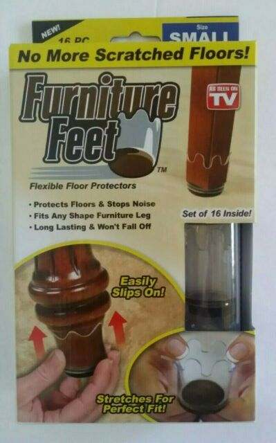 Small Furniture Feet Flexible Floor, Furniture Feet Covers As Seen On Tv