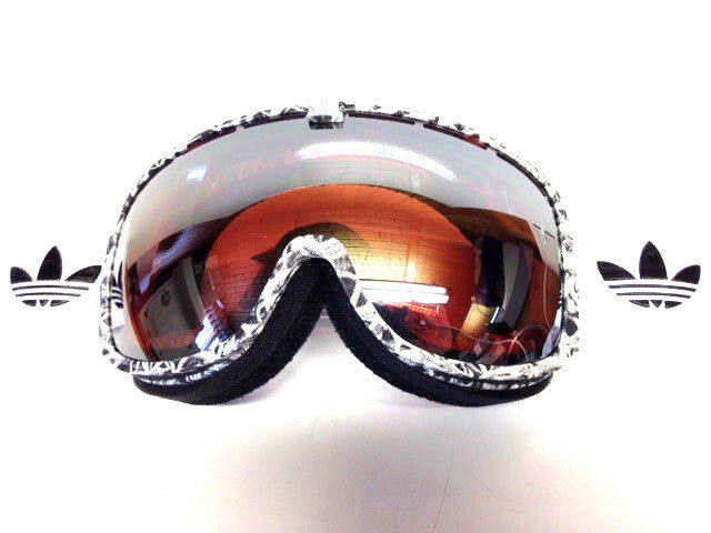 Adidas Originals AH80 6053 Goggle Skibrille Snowboardbrille, catchline white