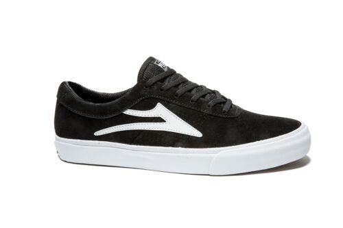 Lakai Sheffield Black Suede Men's Skateboard Shoes sneakers Trainers