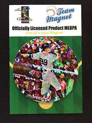 Fanartikel New York Yankees Aaron Judge Magnet-bronx Collectible-baseball's #1 Künstler Heller Glanz