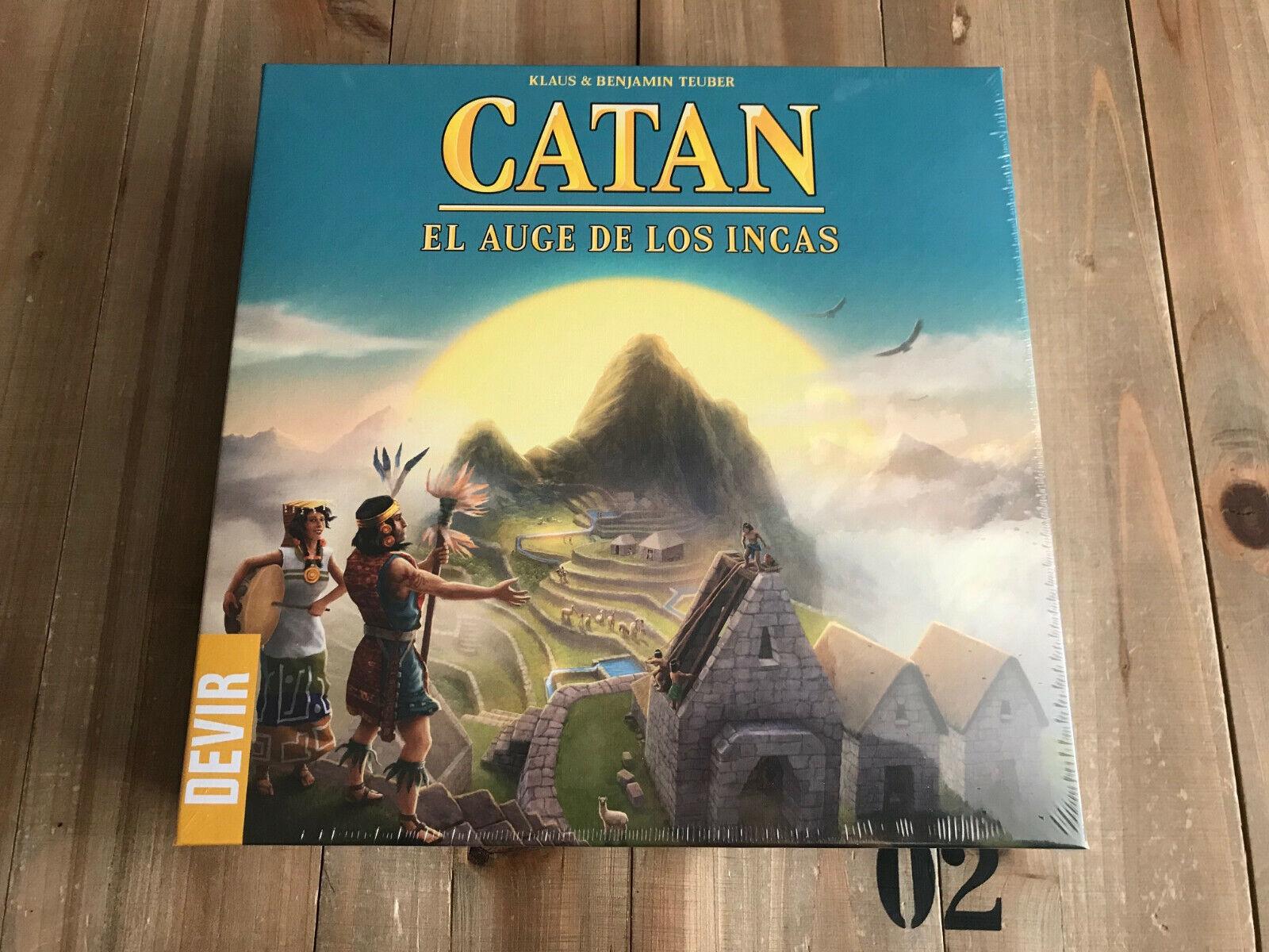 Jeu de table - CATAN  Le boom des los Incas - Edition Espagnole DVIR - Eurogame