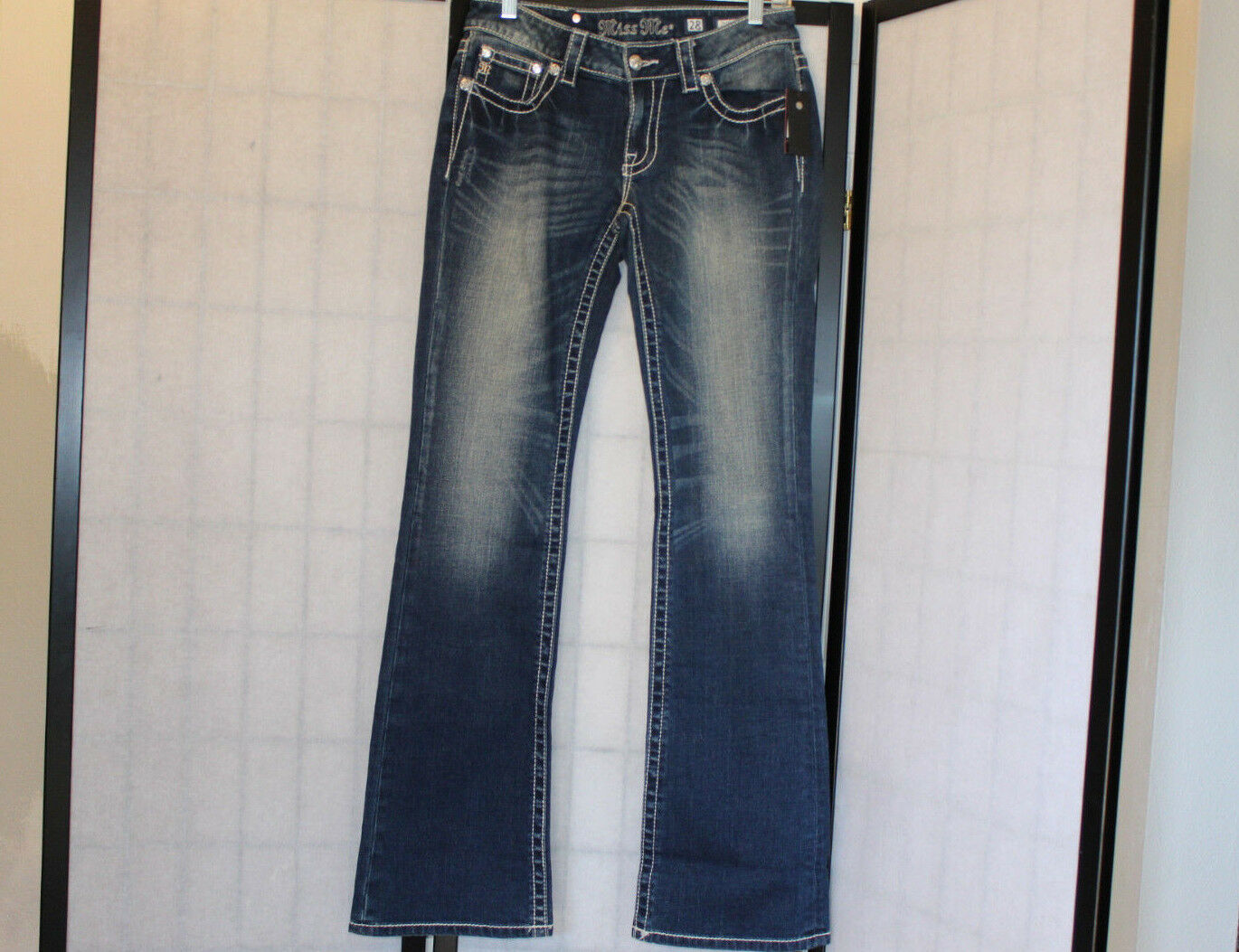MISS ME VERY BOOT CUT JEANS SZ 28  NWT