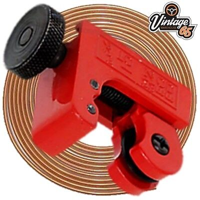 "Brake Pipe Flaring Tools SAE DIN 3//16/"" Copper Kunifer Straightener Cutter On Car"