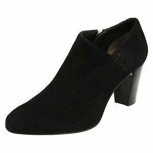 Suede Leather Ankle Dal Van Ladies Boots Smart 'carrow' SvBOqta