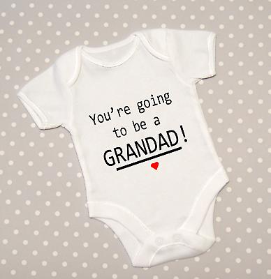 Hello Auntie Pregnancy reveal baby grow bodysuit vest new baby announcement