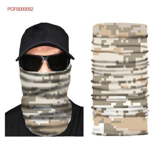Military Camoflage Face Mask Shield Balaclava Neckerchief Bandana Headband #52