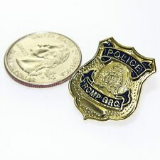 "RCMP Royal Canadian Mounted Police Mini Badge Lapel Pin Tie Tac 1"" Prop NEW"