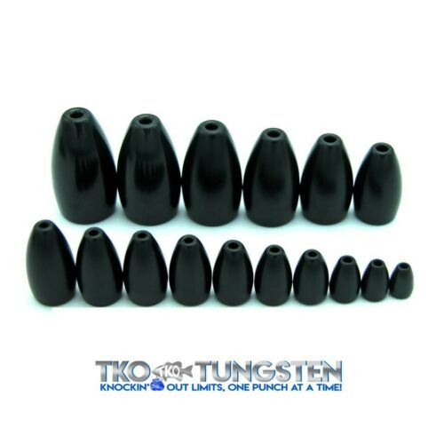 FAST shipping***** 12 sizes, 3 Colors *****TKO Tungsten Flipping Weights