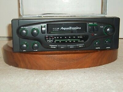 Aquatronics # MS-407 Marine AM/FM Radio/ fader and Cassette