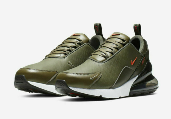 Size 9.5 - Nike Air Max 270 Premium Olive for sale online | eBay
