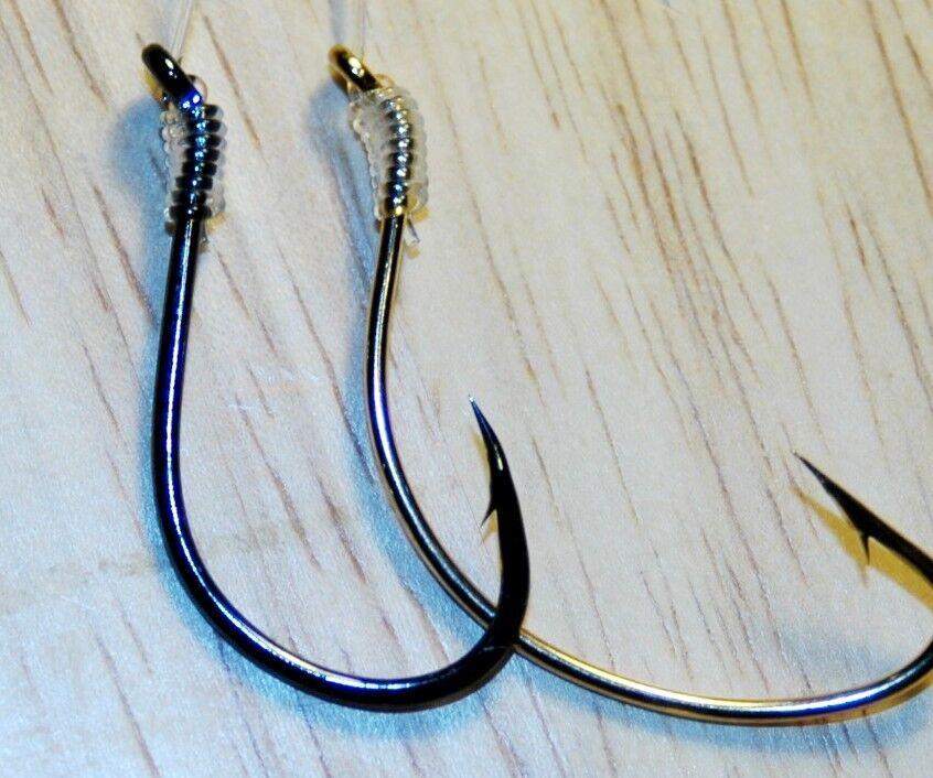 Best Fluke PLIE B2 Calmar Rigs Lures Mustad Ultraviolet mer bass morue saumon