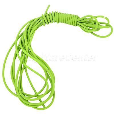 1632 5M Surgical Elastica Bungee Tube Slingshot Catapult Latex Rubber Band Green