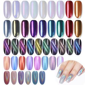 Polvere-Glitter-per-Unghie-Specchio-Camaleonte-Olografico-Magnetico-Nail-Glitter
