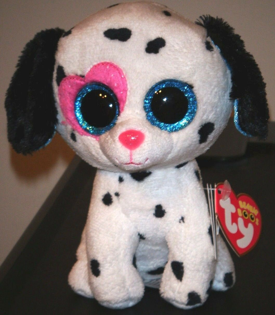15c2598c9a1 Ty Beanie Boo s CHLOE the Dalmatian Dog (6 Inch)(Justice Exclusive) NEW