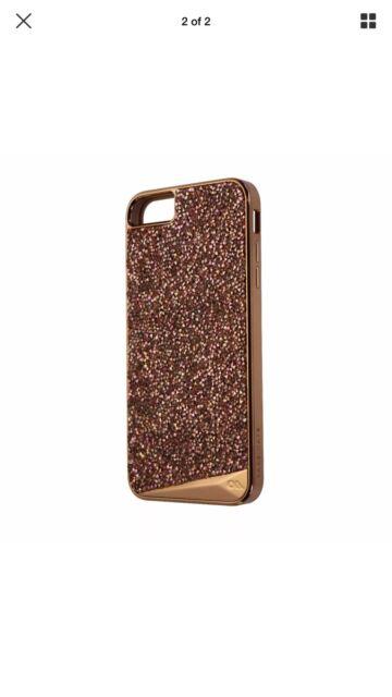 new arrival ff20c 11f6b Case-Mate Brilliance Tough Genuine Crystal Case iPhone 6 6s Plus Rose Gold