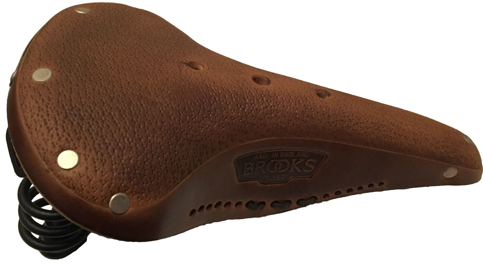 Brooks Flyer Uomo b396 aged trattato Pelle Sella Trekking Viaggi e MTB