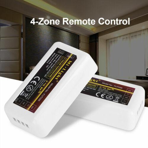 Milight wifi 2.4G RF 4 Zone LED remote Controller RGB CCT RGBW LED Strip Light