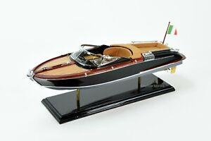 "Riva Ariston Gorgeous  Handmade Wooden Model Speedboat 35/"""