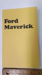 1974-FORD-Maverick-Original-NOS-Owners-Manual-Excellent-Condition-US