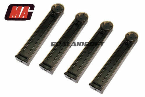 MAG 170rd Mid-Cap Airsoft Toy Magazine For Marui G&P Kingarms S&T P90 AEG 4PCS