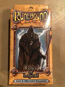 Fantasy-Flight-Runebound-Item-amp-Ally-Card-Expansion-Relics-of-Legend-2nd-Edition
