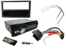 VAUXHALL Corsa C 00-04 unità di testa stereo auto Radio, Bluetooth mp3, Nero Fascia