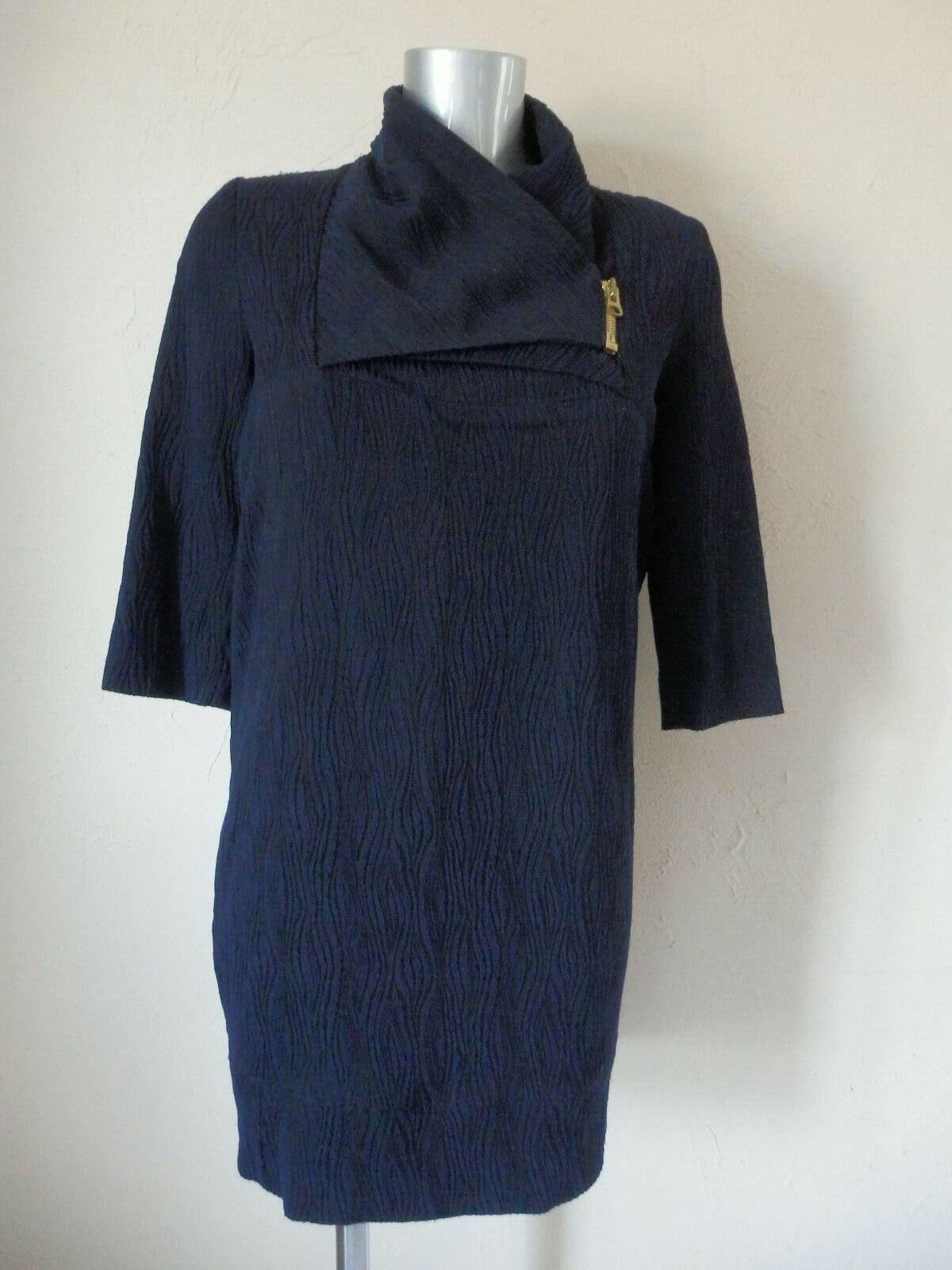 HEIMSTONE - Robe - blue et black - size 36fr - authentique