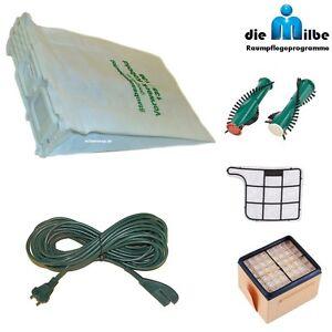 Bürsten Rundbürste passend für Vorwerk Staubsauger Kobold 135 136 2 Filter