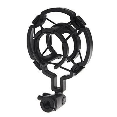 Mikrofonspinne Mikrofon Spinne Shock Mount Studio Singen für 40mm Schwarz