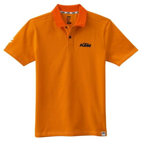 NEW GENUINE KTM FACTORY RACE POLO READY2RACE BLACK OR ORANGE 3PW175640X