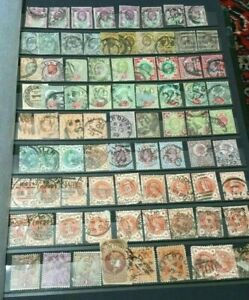 Briefmarken-England-Grossbritannien-Reichhaltige-Sammlung