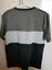 BRAND-NEW-Reph-CHARCOAL-Tricolour-Striped-T-Shirt-SIZE-M thumbnail 2