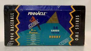 1994-Pinnacle-series-2-Baseball-card-box-24-packs-factory-sealed